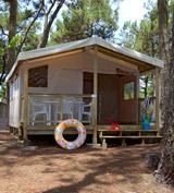 Ecolodge tenten 5p -7jaar